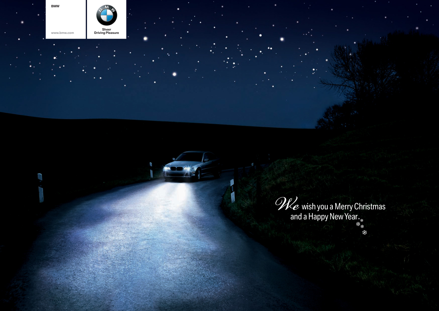 Christmas Greetings From Bmw